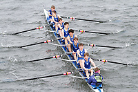 Crew: 180  Canford Sch  Event: J15 School 1st eights<br /> <br /> Schools' Head of the River 2017<br /> <br /> To purchase this photo, or to see pricing information for Prints and Downloads, click the blue 'Add to Cart' button at the top-right of the page.