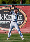 3 September 2018: Vermont Lake Monsters outfielder Devin Foyle in action against the Tri-City ValleyCats at Centennial Field in Burlington, Vermont. The Lake Monsters defeated the ValleyCats 9-6 in the last game of the 2018 NY Penn League regular season. Mandatory Credit: Ed Wolfstein Photo *** RAW (NEF) Image File Available ***