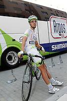 Johannes Frohlinger before the stage of La Vuelta 2012 beetwen Penafiel-La Lastrilla.September 7,2012. (ALTERPHOTOS/Acero) /NortePhoto.com<br /> <br /> **CREDITO*OBLIGATORIO** *No*Venta*A*Terceros*<br /> *No*Sale*So*third* ***No*Se*Permite*Hacer Archivo***No*Sale*So*third