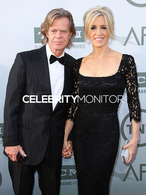HOLLYWOOD, LOS ANGELES, CA, USA - JUNE 05: William H. Macy, Felicity Huffman at the 42nd AFI Life Achievement Award Honoring Jane Fonda held at the Dolby Theatre on June 5, 2014 in Hollywood, Los Angeles, California, United States. (Photo by Xavier Collin/Celebrity Monitor)