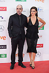 Spanish actress Penelope Cruz and actor Luis Tosar attend the 2016 Premios Forque in Madrid, Spain. January 11, 2016. (ALTERPHOTOS/Victor Blanco)