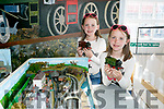 At the Kerry Model Railway Association Festival Blennerville Windmill on Saturday were  Aoife and Niamh Gascoigne
