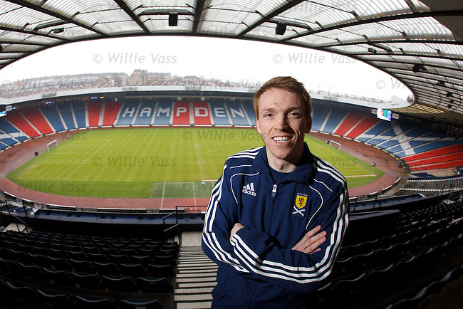 Greg Miller, one of the seven new SFA regional schools performance coaches tasked with developing young players for Scotland
