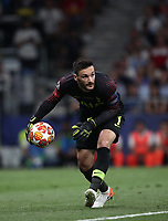 Tottenham's goalkeeper Hugo Lloris in action during the UEFA Champions League final football match between Tottenham Hotspur and Liverpool at Madrid's Wanda Metropolitano Stadium, Spain, June 1, 2019. Liverpool won 2-0.<br /> UPDATE IMAGES PRESS/Isabella Bonotto