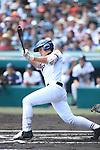 Musashi Nishioka (Mie),<br /> AUGUST 25, 2014 - Baseball :<br /> 96th National High School Baseball Championship Tournament final game between Mie 3-4 Osaka Toin at Koshien Stadium in Hyogo, Japan. (Photo by Katsuro Okazawa/AFLO)3() vs