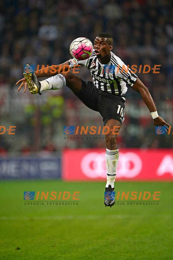 Paul Pogba Juventus<br /> Milano 09-04-2016 Stadio Giuseppe Meazza - Football Calcio Serie A Milan - Juventus. Foto Giuseppe Celeste / Insidefoto