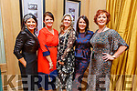 Mary Woulfe (Athea), Christine O'Connor (Abbeyfeale), Anna Molth (Killarney), Siobhan Kennedy (Tournafulla) and Eileen Kennedy (Carragh Lake) attending the Daily Diva and Stuart's Select Style Autumn/Winter Fashion Fix  show in aid of Recovery Haven Kerry in the Ballygarry House Hotel on Saturday night.