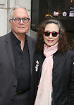 Chris Calkins and Bebe Neuwirth attends the Broadway Opening Night of  'Saint Joan' at the Samuel J. Friedman Theatre on April 25, 2018 in New York City.