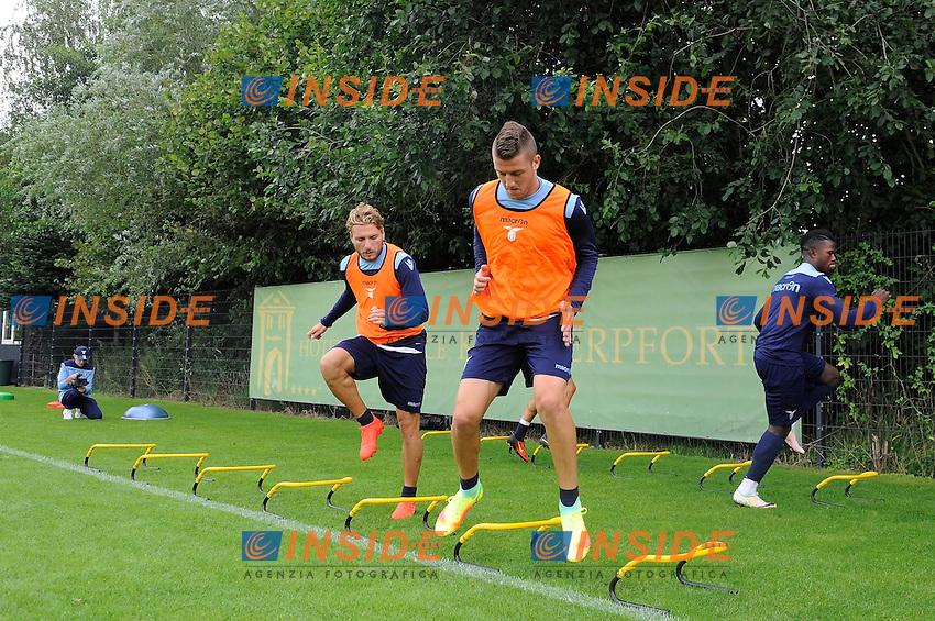 Ciro Immobile, Sergej Milinkovic Savic<br /> 06-08-2016 Marienield<br /> Allenamento Lazio <br /> SS Lazio traning day<br /> @ Marco Rosi / Fotonotizia / Insidefoto