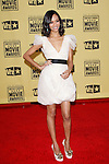 January 15, 2010:  Zoe Saldana arrives at the 15th Annual Critics' Choice Movie Awards held at the Palladium in Los Angeles, California. .Photo by Nina Prommer/Milestone Photo