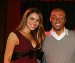 All My Children's Chrishell Stause and J.R. Martinez came to see fans on November 22, 2009 at the Brokerage Comedy Club & Vaudeville Cafe, Bellmore, NY for a Q & A, autographs and photos. (Photo by Sue Coflin/Max Photos)