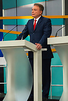 SÃO PAULO, SP, 09.09.2018 - ELEIÇÕES-2018 - O candidato Alvaro Dias (Podemos) à presidência durante o debate entre candidatos à presidência do Brasil na GAZETA (Fundação Cásper Líbero), neste domingo, 09, em São Paulo. (Foto: Anderson Lira/Brazil Photo Press)