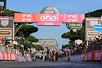 Sam Bannett (IRL) Bora-Hansgrohe wins Stage 21 his 3rd stage of the 2018 Giro d'Italia, running 115km around the centre of Rome, Italy. 27th May 2018.<br /> Picture: LaPresse/Gian Mattia D'Alberto | Cyclefile<br /> <br /> <br /> All photos usage must carry mandatory copyright credit (&copy; Cyclefile | LaPresse/Gian Mattia D'Alberto)