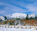 First snow, Mammoth Mountain Ski Resort, Mammoth Lakes, California