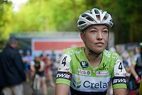 Sophie De Boer (NLD/Crelan-KDL) at the start<br /> <br /> GP Neerpelt 2014