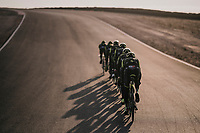 TTT training at the Circuito de Almeria Fans<br /> <br /> Michelton-Scott training camp in Almeria, Spain<br /> february 2018