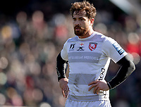 Gloucester's Danny Cipriani<br /> <br /> Photographer Bob Bradford/CameraSport<br /> <br /> Gallagher Premiership - Harlequins v Gloucester Rugby - Sunday 10th March 2019 - Twickenham Stoop - London<br /> <br /> World Copyright &copy; 2019 CameraSport. All rights reserved. 43 Linden Ave. Countesthorpe. Leicester. England. LE8 5PG - Tel: +44 (0) 116 277 4147 - admin@camerasport.com - www.camerasport.com