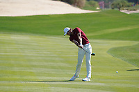 Thomas Pieters (BEL) on the 8th fairway during Round 1 of the Abu Dhabi HSBC Championship 2020 at the Abu Dhabi Golf Club, Abu Dhabi, United Arab Emirates. 16/01/2020<br /> Picture: Golffile | Thos Caffrey<br /> <br /> <br /> All photo usage must carry mandatory copyright credit (© Golffile | Thos Caffrey)