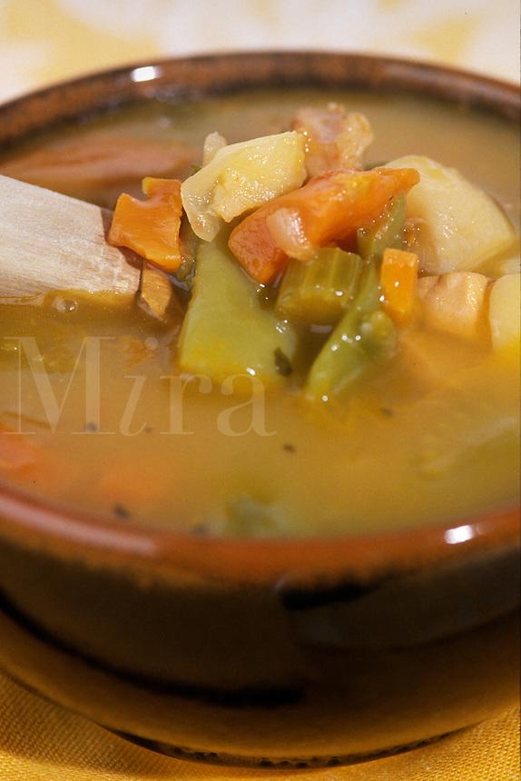 Vegetables soup.