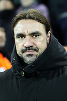 Norwich City manager Daniel Farke during Norwich City vs Chelsea, Emirates FA Cup Football at Carrow Road on 6th January 2018