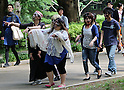 Zombie Walk takes place in Tokyo's Yoyogi Park