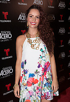 DORAL, FL - NOVEMBER 6: Ana Lucia Dominguez on the red carpet for Telemundo's season premiereofSenora Acero,La Coyote in CineBistro at City Place Doral, Florida. November 6, 2017. Credit: mpi140 / MediaPunch /NortePhoto.com