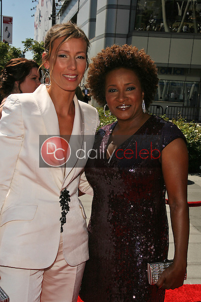 Alex Sykes and Wanda Sykes<br />