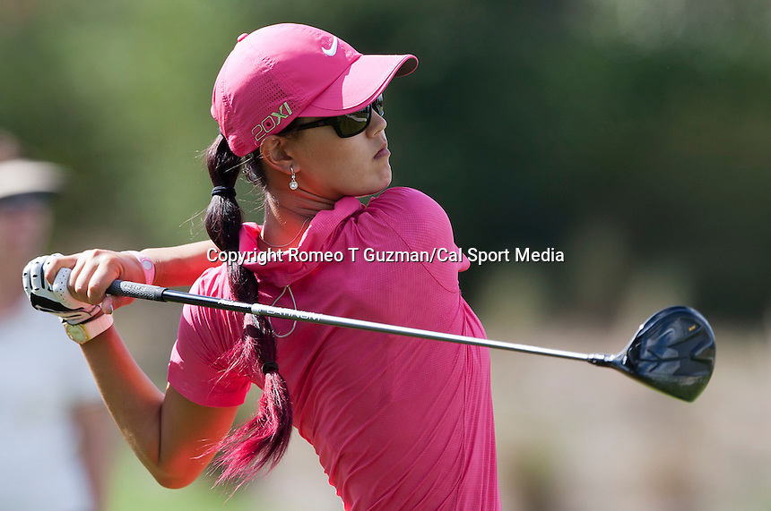 November 20, 2011: Michelle Wie on the 5th tee during final round golf action from the CME Group Titleholders held at The Grand Cypress Resort, Orlando, Fla.