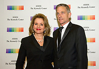 Renee Fleming and her husband, Tim Jessell, arrive for the formal Artist's Dinner honoring the recipients of the 40th Annual Kennedy Center Honors hosted by United States Secretary of State Rex Tillerson at the US Department of State in Washington, D.C. on Saturday, December 2, 2017. The 2017 honorees are: American dancer and choreographer Carmen de Lavallade; Cuban American singer-songwriter and actress Gloria Estefan; American hip hop artist and entertainment icon LL COOL J; American television writer and producer Norman Lear; and American musician and record producer Lionel Richie. Photo Credit: Ron Sachs/CNP/AdMedia