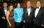 Carlos Kuri, Beatrice Garza, Tere and Eduardo Aguirre and Carlos Lopez at the Hispanic Chamber of Commerce's annual Triunfando Awards Show and Dinner at the Hobby Center Saturday Nov. 14,2009. (Dave Rossman/For the Chronicle)