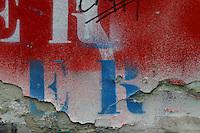 Muro esterno della casa di Serge Gainsbourg a Parigi , disegni e graffiti (inizio anni 2000) ora scomparsi