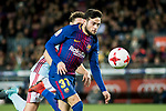Jose Manuel Arnaiz Diaz (R) of FC Barcelona fights for the ball with Sergi Gomez Sola of RC Celta de Vigo during the Copa Del Rey 2017-18 Round of 16 (2nd leg) match between FC Barcelona and RC Celta de Vigo at Camp Nou on 11 January 2018 in Barcelona, Spain. Photo by Vicens Gimenez / Power Sport Images