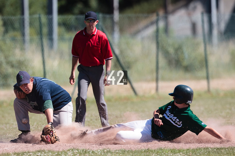 04 July 2010: Dragons Ronchin, little league, championnat Cadets, Ronchin, France.