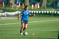 Kansas City, Mo. - Saturday April 23, 2016: FC Kansas City forward Frances Silva (11) warms up before hosting Portland Thorns FC at Swope Soccer Village. The match ended in a 1-1 draw.