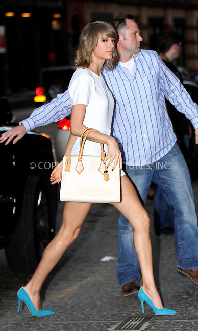 WWW.ACEPIXS.COM<br /> <br /> May 27 2015, New York City<br /> <br /> Singer Taylor Swift arrives at her downtown apartment on May 27 2015 in New York City<br /> <br /> By Line: Nancy Rivera/ACE Pictures<br /> <br /> <br /> ACE Pictures, Inc.<br /> tel: 646 769 0430<br /> Email: info@acepixs.com<br /> www.acepixs.com