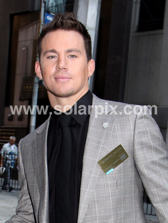 "**ALL ROUND PICTURES FROM SOLARPIX.COM**.**SYNDICATION RIGHTS FOR UK, AUSTRALIA, DENMARK, PORTUGAL, S. AFRICA, SPAIN & DUBAI (U.A.E) ONLY**.Sienna Miller and the Cast of ""G.I. Joe: The Rise of Cobra"" Ring the Opening Bell at the New York Stock Exchange, New York City, USA. 4 August 2009..This pic: Channing Tatum..JOB REF: 9694 PHZ (Mayer)   DATE: 04_08_2009.**MUST CREDIT SOLARPIX.COM OR DOUBLE FEE WILL BE CHARGED**.**MUST NOTIFY SOLARPIX OF ONLINE USAGE**.**CALL US ON: +34 952 811 768 or LOW RATE FROM UK 0844 617 7637**"