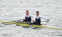 Caversham. Berkshire. UK<br /> GBR M2X, Bow. John COLLINS and Jonny WALTON.<br /> 2016 GBRowing European Team Announcement,  <br /> <br /> Wednesday  06/04/2016 <br /> <br /> [Mandatory Credit; Peter SPURRIER/Intersport-images]