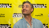 """AUSTIN, TX- MARCH 8: Taika Waititi attends the SXSW world premiere of FX's """"What We Do in the Shadows"""" at the Paramount Theater on March 8, 2019 in Austin, Texas. (Photo by Stephen Spillman/FX/PictureGroup)"""