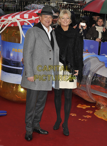 LONDON, ENGLAND - NOVEMBER 23: Hugh Bonneville &amp; Lulu Williams attend the &quot;Paddington&quot; world film premiere, Odeon Leicester Square cinema, Leicester Square, on Sunday November 23, 2014 in London, England, UK. <br /> CAP/CAN<br /> &copy;Can Nguyen/Capital Pictures