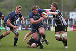 Leinster A prop Tadhg Furlong charges toward the Pontypridd try line.<br /> British &amp; Irish Cup Semi Final<br /> Pontypridd v Leinster A<br /> Sardis Road - Pontypridd<br /> <br /> &copy;Steve Pope-SPORTINGWALES