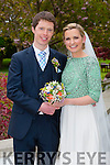 Siobhan Horgan, Ardfert Kerry, daughter of Sean and Joan Horgan, and Vincent Collins, Drimoleague Cork, son of Vincent Snr. and Eileen Collins, were married in St. Brendan's Church Ardfert by Fr. Tadhg Fitzgerald on Friday 1st May 2015 with a reception at Ballygarry House Hotel