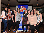 Louth Meath Dyspraxia group Frances Donnelly, Aoife Browne, Lisa Cummins, Narissa O'Brien, Carmel Closkey, Karen Kennedy, Sharon Holland and Eimer McEntaggart pictured at their fundraiser in O'casey's bar. Photo:Colin Bell/pressphotos.ie