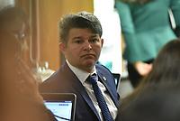 BRASÍLIA, DF, 04.07.2017 - SENADO-CAE - O senador José Antônio Medeirso durante reunião na Comissão de Assuntos Econômicos do Senado, na manhã desta terça-feira, 04.(Foto: Ricardo Botelho/Brazil Photo Press)