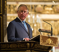 Prince Charles attends a service to celebrate the contribution of Christians in the Middle East