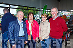 James Harnett & Eileen Harnett from Abbeyfeale with Betty O'Reilly and Christie Walsh from Templeglantine pictured last Saturday at the opening of Dick Dalton's - Garden & Tools Supplies in Abbeyfeale