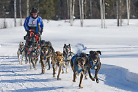 Musher Danny Beck, 2007 Open North American Championship sled dog race (the world's premier sled dog sprint race) is held annually in Fairbanks, Alaska.