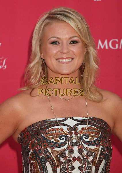 CAROLYN DAWN JOHNSON.42nd Annual Academy Of Country Music Awards held at the MGM Grand Garden Arena, Las Vegas, Nevada, USA..May 15th, 2007.headshot portrait strapless necklace .CAP/ADM/BP.©Byron Purvis/AdMedia/Capital Pictures