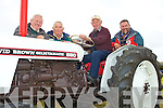 TRACTORS: Enjoying the tractors at the Camp Vintage Rally on Sunday l-r: John Quane, Kilmoyley, Kevin Curran, Watervillie, Michael Forgarty, Ballinskelligs and John Kerins, Blennervillie.