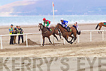 Action from Glenbeigh Races at Rossbeigh Beach on Sunday.