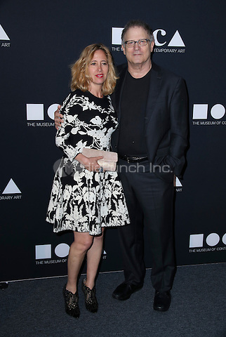 LOS ANGELES, CA - MAY 14: Albert Brooks, Kimberly Shlain arrives at the MOCA Gala 2016 at The Geffen Contemporary at MOCA on May 14, 2016 in Los Angeles, California. Credit: Parisa/MediaPunch.